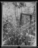 Crime scene of J. Belton Kennedy murder (copy), Los Angeles, ca. 1921