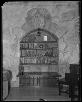 Interior of Shea's Castle, Mojave Desert, 1935