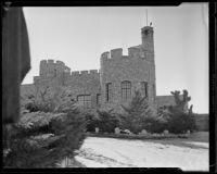 Exterior of Shea's Castle, Mojave Desert, 1935