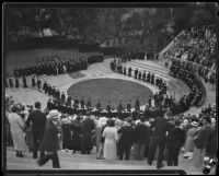 41st Occidental College graduation ceremony, Los Angeles, 1933