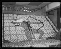 Sunkist display at the National Orange Show, San Bernardino, 1933