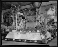 Pomona display at the National Orange Show, San Bernardino, 1933