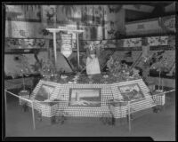 Riverside display at the National Orange Show, San Bernarndino, 1933