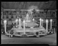 Los Angeles County display at the National Orange Show, San Bernardino, 1933
