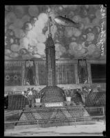 Corona display at the National Orange Show, San Bernardino, 1930