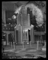 Upland display at the National Orange Show, San Bernardino, 1930