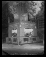 State Department of Agriculture display at the National Orange Show, San Bernardino, 1930