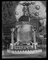 Pacific Electric display at the National Orange Show, San Bernardino, 1930