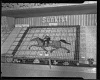 Sunkist display at the National Orange Show, San Bernardino, 1935