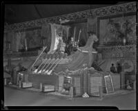 Mutual Orange Distributors display at the National Orange Show, San Bernardino, 1935