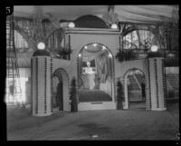 Pomona display at the National Orange Show, San Bernardino, 1926