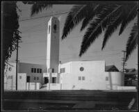 Our Lady of Mt. Lebanon Church, Los Angeles, circa 1934
