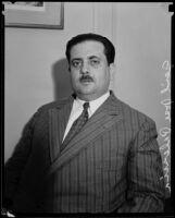 General Jose Mijares, Los Angeles, 1931