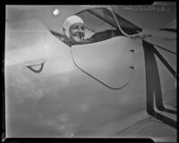 Air pilot Carmelita Parma, Southern California, ca. 1935