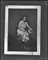 Portrait of Carrie L. Payne (copy), Los Angeles, 1934