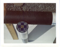 Photograph of spent casing