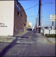 Alley behind the Silver Dollar