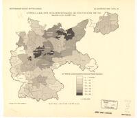 Verteilung Des Schafbestandes Im Deutschen Reich
