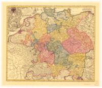 Imperii Romano-Germanici In Svos Statvset Circvlos Divisi Tabvla Generalis