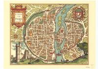 Lvtetia Vulgo Paris Anno 1575