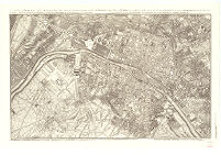 A Plan of Paris. This Survey has been Reduced to the Same Scale as that of London