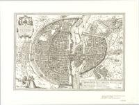 [Pictorial map of Paris]