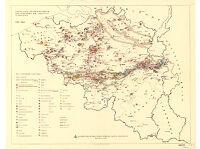 Verteilung der Bodenschätze und Standorte der Industrie in Belgien