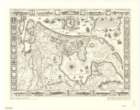 Map of Holland of 1604