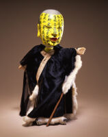Hand puppet, the Blind Scholar (X77-1391a)