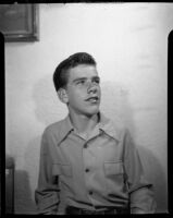Young man in collared shirt, [1940s?]