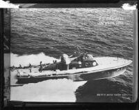 Naval Ship USS PT 17 Motor Torpedo Boat, rephotographed, 1951