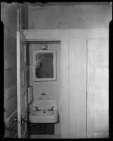 Windemere Hotel bathroom, Santa Monica, 1955