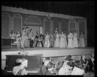 """""""Rigoletto"""" production, Barnum Hall, Santa Monica, 1956"""