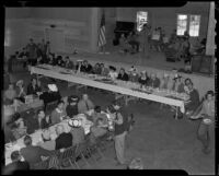 Luncheon to celebrate dedication of Camp Josepho, Pacific Palisades, 1941