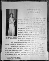 "Manuscript titled, ""Impressions of the Opera,"" by Adelbert Bartlett, 1951"
