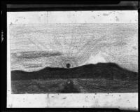 Sketch of the Yukon River, 1910