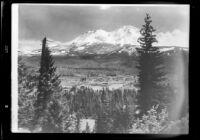 Mountain range and clearing, Arizona or California