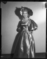 Dorothy Lewis, Santa Monica Civic Opera soprano, Santa Monica, 1957