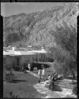 Bungalow court, The Town House and Bungalows, Palm Springs, 1936
