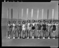 Santa Monica College Women's Row-A-Way Club, Santa Monica, 1935