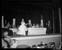 """Traviata"" production with June Moss, John Adams Auditorium, Santa Monica, 1949"
