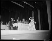 """Traviata"" production with Natalie Garrotto and Ray Gagan, John Adams Auditorium, Santa Monica, 1949"