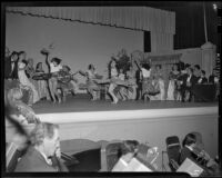 """Traviata"" dance scene, John Adams Auditorium, Santa Monica, 1949"