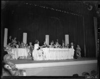 """""""Traviata"""" production with Giovanni Zavatti, John Adams Auditorium, Santa Monica, 1949"""