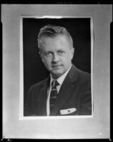 """Robert Mahoney (?), who performed in a Santa Monica Civic Opera production of """"The Marriage of Figaro,"""" copy print, 1958"""