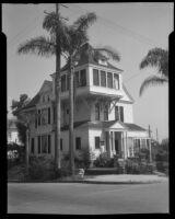 Victorian house, San Diego, 1940