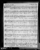 """Canoga Rose"" sheet music, 1950"