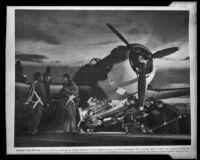 Vengeance dive bomber, Downey, circa 1940