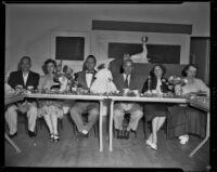 University High School event, Los Angeles, 1955