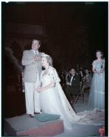 Mr. and Mrs. Farnham, Santa Monica (?), 1960-1965